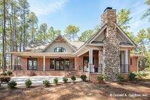 Architectural House Design - Ranch Exterior - Rear Elevation Plan #929-1005
