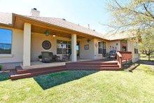 Dream House Plan - Mediterranean Exterior - Covered Porch Plan #80-151
