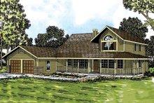 House Design - Farmhouse Exterior - Front Elevation Plan #124-181