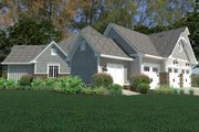 Cottage Style House Plan - 3 Beds 2.5 Baths 2662 Sq/Ft Plan #120-252 Exterior - Other Elevation