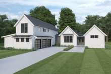 Farmhouse Exterior - Front Elevation Plan #1070-110