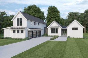 Farmhouse Exterior - Front Elevation Plan #1070-110