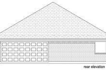 Traditional Exterior - Rear Elevation Plan #84-587