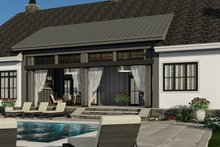 Farmhouse Exterior - Rear Elevation Plan #51-1144