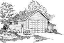 Dream House Plan - Country Exterior - Front Elevation Plan #124-787