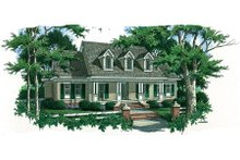 Dream House Plan - Country Exterior - Front Elevation Plan #45-353