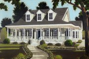 Southern Style House Plan - 5 Beds 2.5 Baths 2401 Sq/Ft Plan #3-199