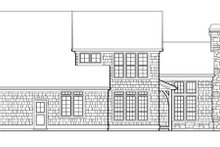 Home Plan - European Exterior - Rear Elevation Plan #48-320