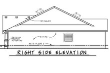 House Design - Cottage Exterior - Other Elevation Plan #20-2413