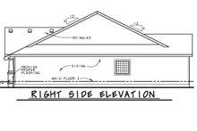 Architectural House Design - Cottage Exterior - Other Elevation Plan #20-2413