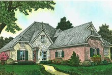 House Design - European Exterior - Front Elevation Plan #310-1286