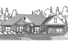 Home Plan Design - Traditional Exterior - Front Elevation Plan #63-360