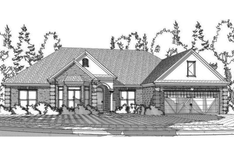 Traditional Exterior - Front Elevation Plan #63-360
