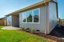 Craftsman Exterior - Rear Elevation Plan #124-1166