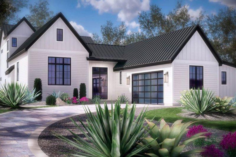Dream House Plan - Farmhouse Exterior - Front Elevation Plan #935-21