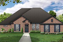 House Plan Design - European Exterior - Front Elevation Plan #84-479