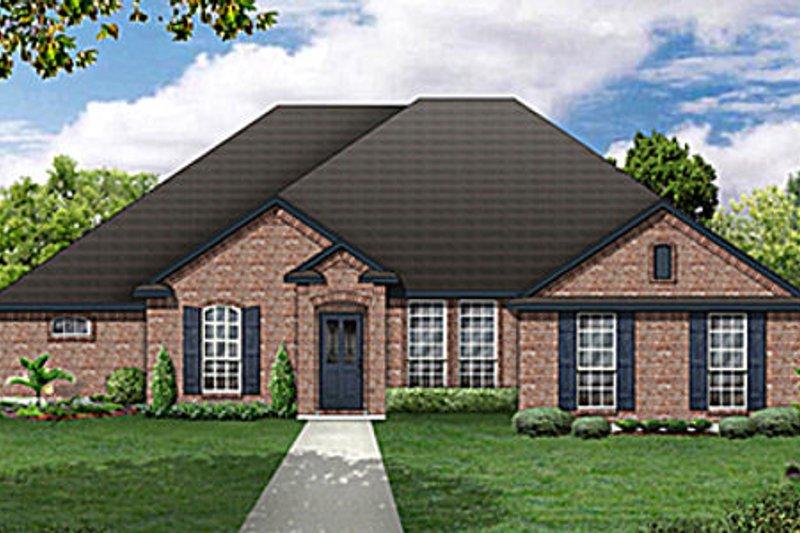 Dream House Plan - European Exterior - Front Elevation Plan #84-479