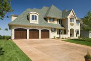 Traditional Style House Plan - 5 Beds 4.5 Baths 4576 Sq/Ft Plan #56-603 Exterior - Other Elevation