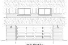 Country Exterior - Front Elevation Plan #932-160