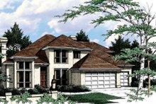 Prairie Exterior - Front Elevation Plan #48-443
