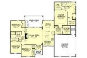 European Style House Plan - 4 Beds 2 Baths 2141 Sq/Ft Plan #430-125 Floor Plan - Main Floor Plan