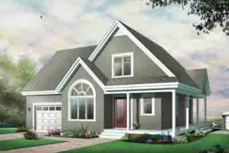 Country Exterior - Front Elevation Plan #23-626
