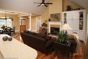 Traditional Style House Plan - 3 Beds 2 Baths 1486 Sq/Ft Plan #929-58 Interior - Family Room
