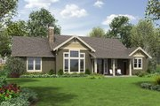 Craftsman Style House Plan - 3 Beds 2 Baths 1868 Sq/Ft Plan #48-659 Exterior - Rear Elevation