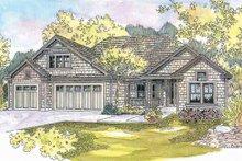 Dream House Plan - Craftsman Exterior - Front Elevation Plan #124-563