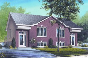 Architectural House Design - Colonial Exterior - Front Elevation Plan #23-679