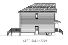 Home Plan - Traditional Exterior - Other Elevation Plan #138-237