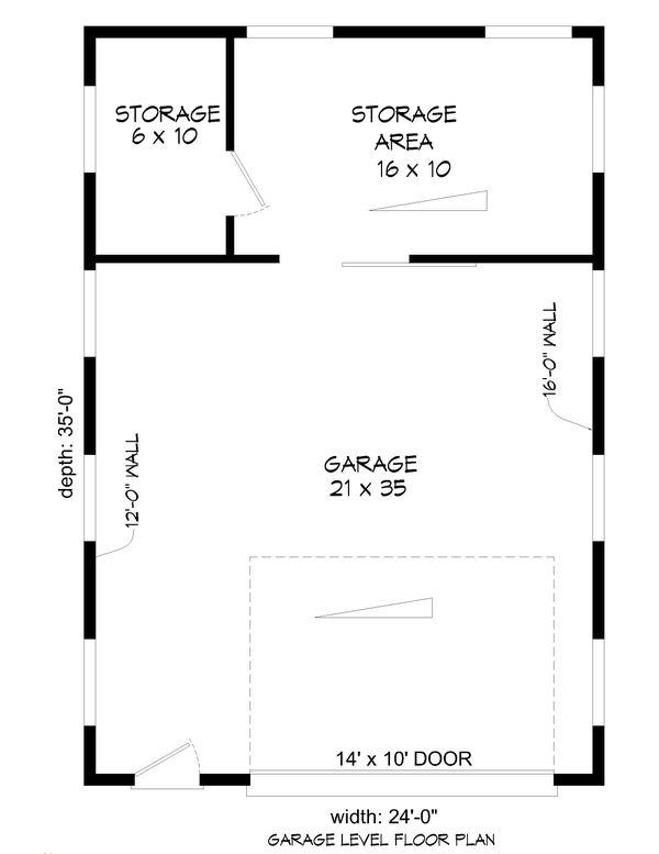 Dream House Plan - Contemporary Floor Plan - Main Floor Plan #932-284