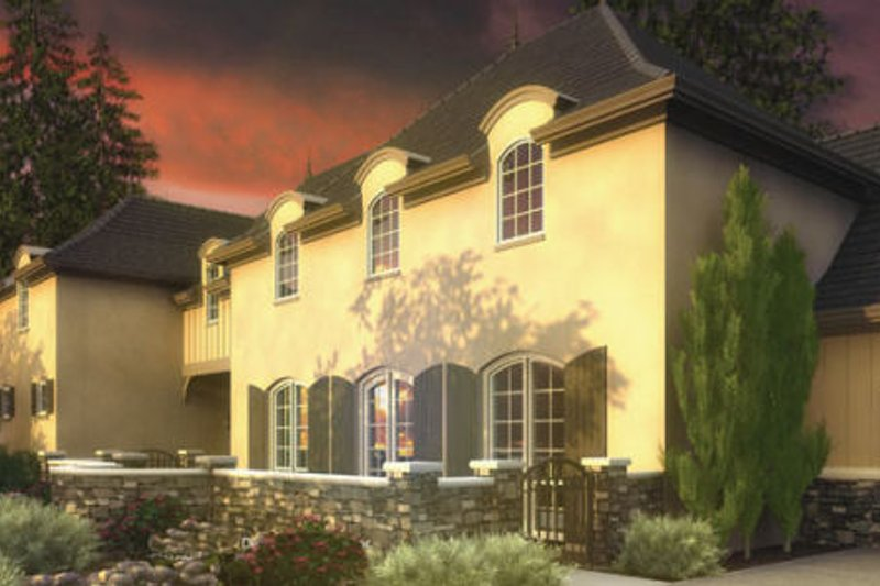 Dream House Plan - European Exterior - Front Elevation Plan #48-363