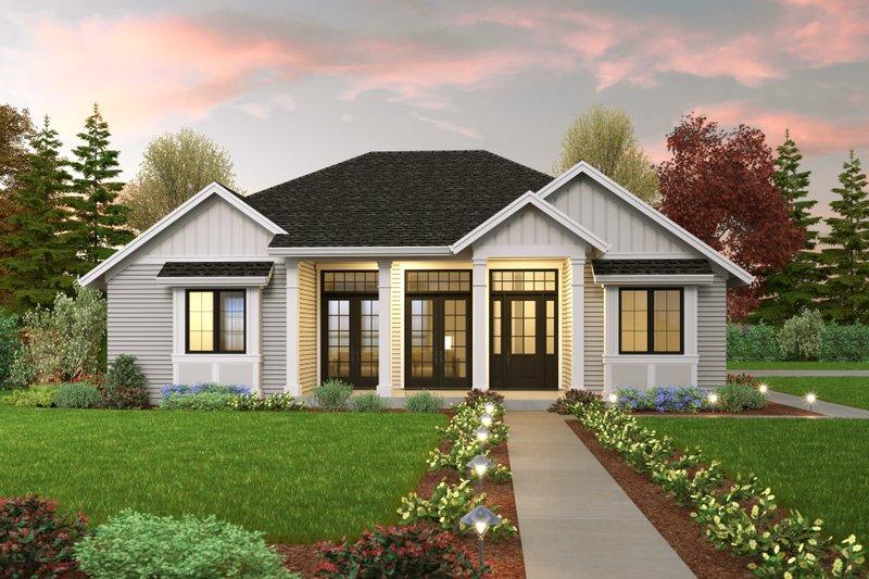 House Plan Design - Farmhouse Exterior - Front Elevation Plan #48-1042