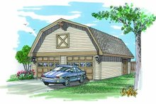Traditional Exterior - Front Elevation Plan #47-494