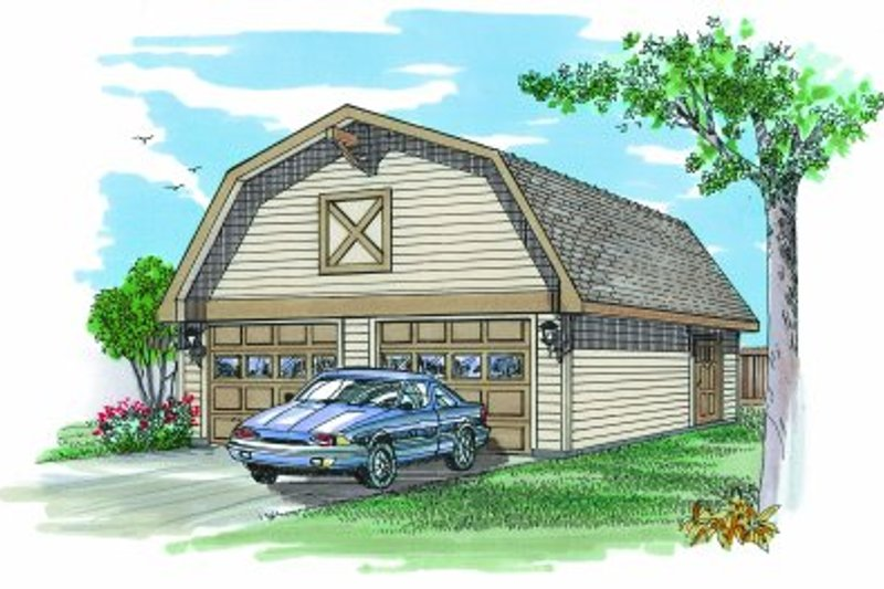 House Plan Design - Traditional Exterior - Front Elevation Plan #47-494