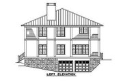 Southern Style House Plan - 3 Beds 3.5 Baths 3060 Sq/Ft Plan #17-2053 Exterior - Other Elevation