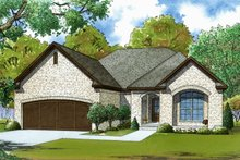 House Plan Design - Traditional Exterior - Front Elevation Plan #923-61