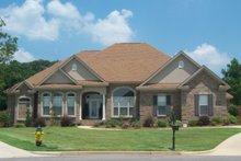 Dream House Plan - European Exterior - Front Elevation Plan #63-137