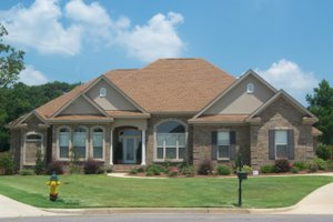 Home Plan - European Exterior - Front Elevation Plan #63-137