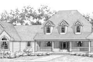 Traditional Exterior - Front Elevation Plan #120-126