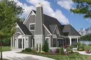 Cottage Style House Plan - 3 Beds 2 Baths 1590 Sq/Ft Plan #23-614