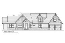 Craftsman Exterior - Front Elevation Plan #1070-15