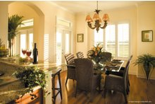 Dream House Plan - Mediterranean Interior - Dining Room Plan #930-16