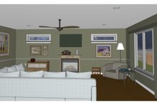 Dream House Plan - Contemporary Interior - Other Plan #126-185