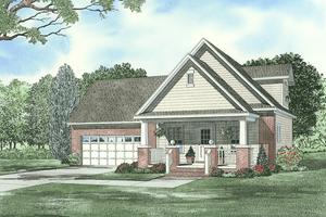 Farmhouse Exterior - Front Elevation Plan #17-2294