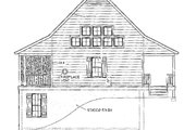 Farmhouse Style House Plan - 2 Beds 1 Baths 1270 Sq/Ft Plan #406-178 Exterior - Other Elevation