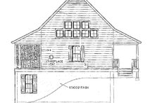 Farmhouse Exterior - Other Elevation Plan #406-178