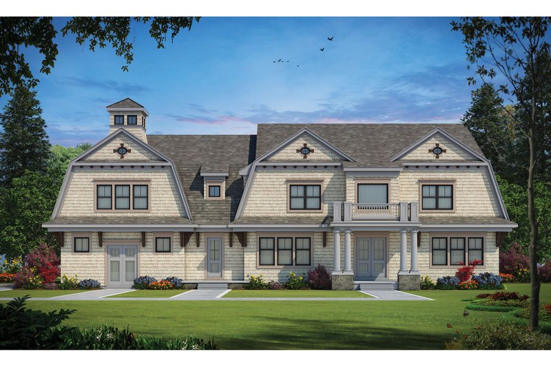 Home Plan - Classical Exterior - Front Elevation Plan #20-2385
