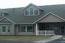 Home Plan - Traditional Exterior - Front Elevation Plan #117-248